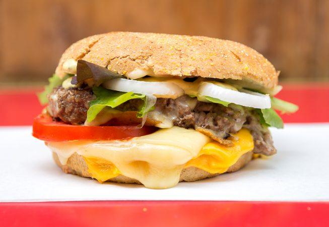 Burger cheese